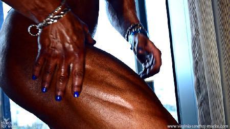 Virginia sanchez ifbb pro athlete close up pumping video - Virginia sanchez ...