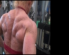 Desiree Dümpel - 8 days before the Universe 2014 Back training part I