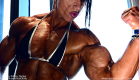 Virginia Sanchez,Ifbb pro athlete - abs flexing