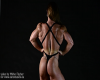 Branka Njegovec - abs flexing