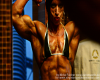Virginia Sanchez,Ifbb pro athlete - posing