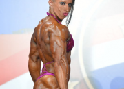 Virginia Sanchez,Ifbb pro athlete - Arnold Europe 2013,1st place